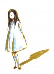 Ευχαριστώ την εικονογράφο Nathalie Novi για το κοριτσάκι που μου χάρισε…